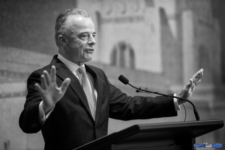 Speech Perfect, Brendan Nelson, Canberra