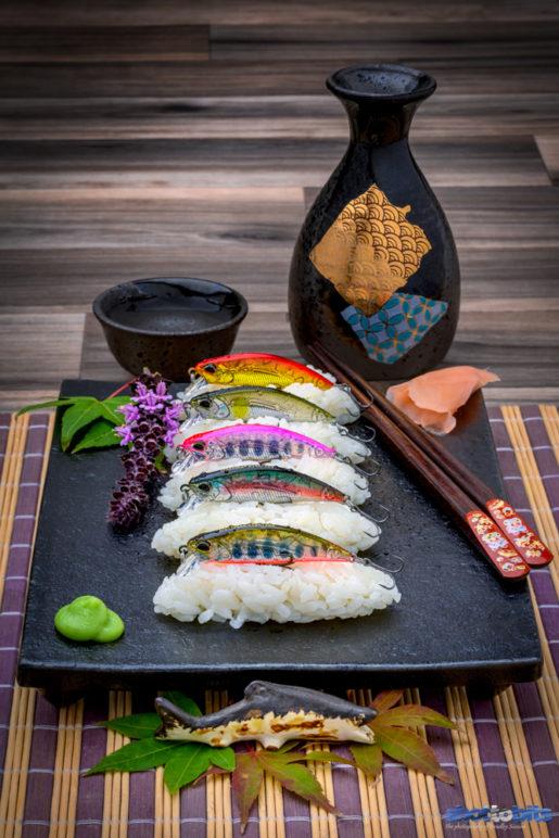 Sushi Plate DUO Spearhead Ryuki 50S Awabi Collection