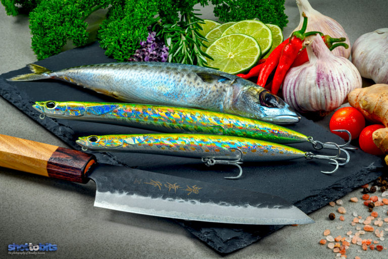 Fusion of Mediterranean Mackerel Cuisine & Japanese Knife Craftsmanship - Duo Rough Trail Hydra