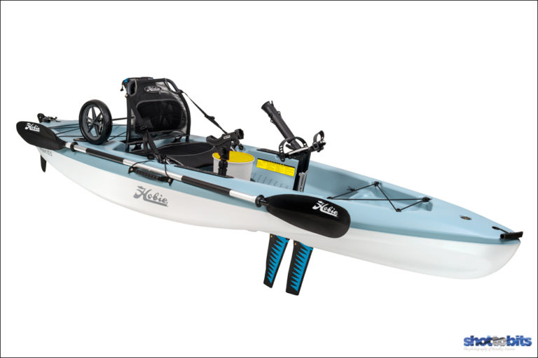 HOBIE PASSPORT 10.5 Setup for fishing