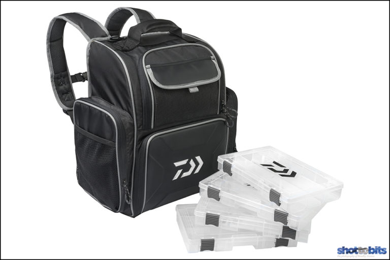 DAIWA TACKLE BACKPACK & TACKLE TRAYS