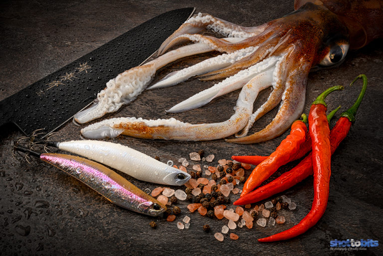 CATCH OF THE DAY DINNER PREPARATION – DUO D SQUID
