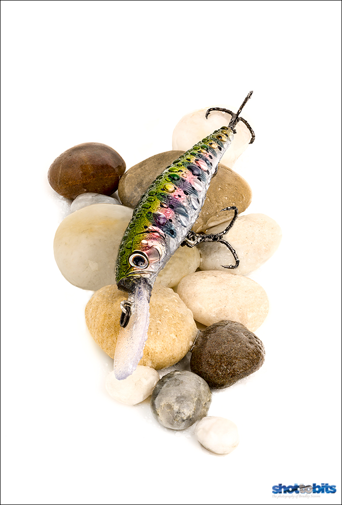THE POWER OF PERSPECTIVE CONTROL LENSES - PROLURE ST72 MINNOW RAINBOW TROUT