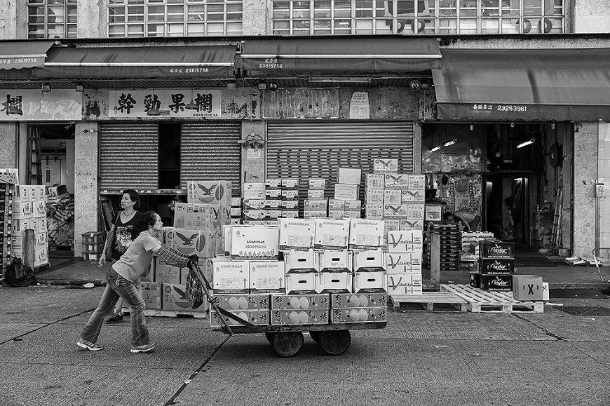Morning Delivery, Jordan, Hong Kong