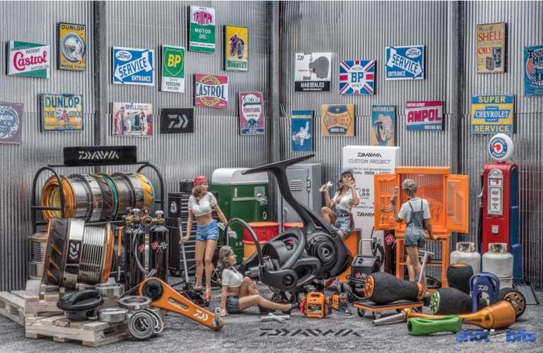 The Daiwa Custom Project Tool Shop